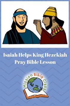 Bible Lessons For Kids, Bible For Kids, Preschool Class, Preschool Lessons, Creation Bible Crafts, King Hezekiah, Brave Kids, Children's Bible, Church Nursery