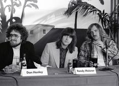 THe Eagles Gallery: 1977 (Press conference) Photo - Eagles' Long Run: Photos From the Seventies and Beyond | Rolling Stone