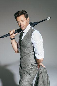 very handsome. Hugh Jackman, Hugh Michael Jackman, Hugh Wolverine, Australian Actors, The Greatest Showman, Hollywood, Cute Actors, Marvel Actors, Charms