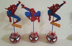 Spiderman centerpieces