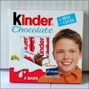 kinder chocolate= i am addicted