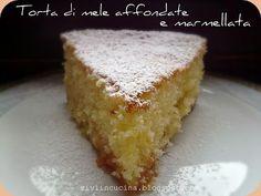 Vivi in cucina: Torta di mele affondate e marmellata