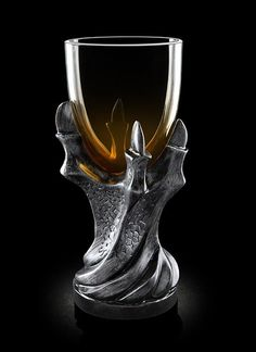 You don't have to know the story behind this Game of Thrones goblet to be impressed by it. With a resin stem shaped like a dragon's claws and a glass bowl, this chalice is perfect for hosting parties or for a quiet dinner alone pondering the fate