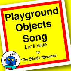 Song for kindergarten childcare and ESL students about classroom and playground toys. Lyrics:  Swing! x5 Go!  Slide x5 Go!  Puzzle x2 Doll x2 Teddy Bear x2  Dance! x5 What do you have? x2 I have swing (repeat for slide, puzzle, doll, teddy bear)