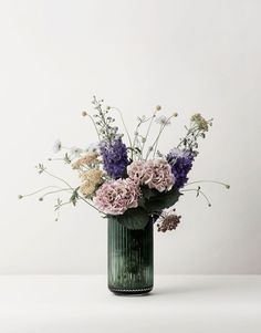 Lyngby glass vase from Lyngby Porcelæn #lyngby #danishdesign #summer #inspiration