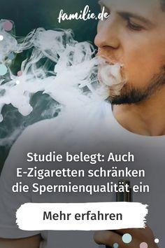 Dass Rauchen unfruchtbar machen kann, ist ja hinreichend bekannt und wissenschaftlich belegt. Doch auch die E-Zigarette hat negative Auswirkungen auf die Fruchtbarkeit. Eine dänische Studie unter jungen Männern belegt jetzt, wie stark die Spermien dadurch eingeschränkt werden. #ezigarette #rauchen #zigarette #raucher #spermien #unfruchtbarkeit #liebe #beziehung #männer #auswirkungen #fruchtbarkeit #studie #familienleben Stark, Smokers, Fertility, Family Life, Relationship, Boys, Amor