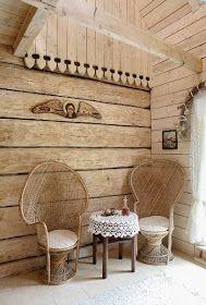 *Hungarian Provence*: Romantikus country stílusú faház Miniature Rooms, Sofa Chair, Cozy House, Wicker, Provence, Inspiration, Furniture, Patio Ideas, Design
