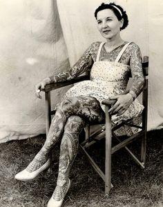 33 photos vintage de l'âge d'or des tatouages
