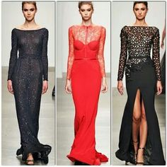 Steven Khalil dresses