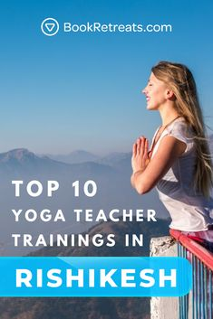 Looking for the best yoga teacher training Rishikesh has to offer? Our list of curated, hand-selected yoga teacher training programs (picked by actual yoga teachers! Yoga Teacher Training Bali, Yoga Teacher Training Rishikesh, Yoga Sequences, Yoga Poses, Yoga India, Iyengar Yoga, Spiritual Inspiration, Yoga Inspiration, Yoga Retreat