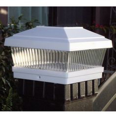 GTMax Plastic White Square Fence Post Cap Solar Powered LED Light - (Set of 1) by GTMax. $19.02. rechargeable Ni-Cd AA battery included. Energy, electrical saving. Ideal for areas where conventional electrical supply is not available. One High output long lasting ultra-bright white LED bulb. More expensive ultra-highly sensitive solar panel usually seen on calculators is used. Sun Powered. No Wiring. On/Off switch. 2 Ultra Bright LED. Powered by the sun. Fast & easy ...