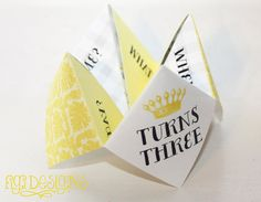 Origami Birthday Party Invitation by FiGiDesigns on Etsy, $18.00