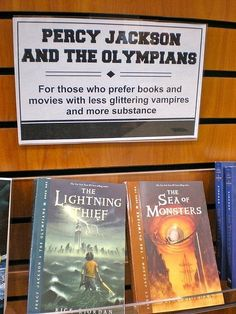 for those who prefer books and movies with less glittery vampires and more substance