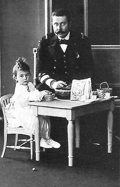 The Archduke Franz Ferdinand, here with his daughter
