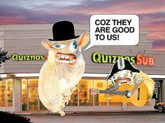 Quiznos Sponge Monkeys