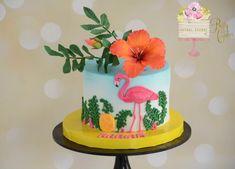 Flamingo cake  by BettyCakesEbthal