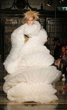 Spring/Summer 2012 collection of Israeli designer Inbar Spector, presented at the London Fashion Week