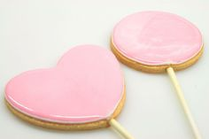 all cookies should come on a stick for easily dipping into milk. This recipe explains how to flood cookies with royal icing