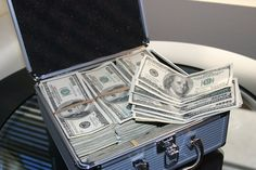 If a man knocked on your door and gave you a briefcase with 1 million dollars in it, and said this has YOUR NAME on it (its yours) and the taxes have been paid already.  What is the first thing you would do?   #business #entrepreneur #success #startup