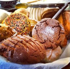 Delicious mexican Pan Dulce, great treat after breakfast!