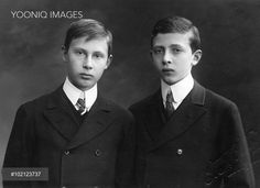 The two eldest sons of Princess Margarete of Prussia and Friedrich Karl of Hesse-Cassel, both killed in action during World War I. Max (1894-1914) was killed in the early months of the war while Freddy (1893-1916) was killed at Kara Orman in Romania.