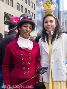 Having fun and looking chic at the Easter Parade in New York – 18 fabulous outfits! | 40plusstyle.com