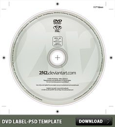 Dvd Label Template | 7 Best Dvd Labels Images Cd Cover Template Card Templates