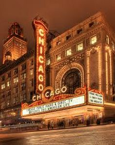 Chicago Theater - Chigaco, IL