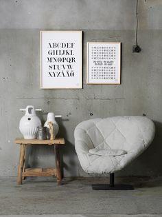 interior scandinavian prints - Google Search