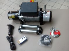 Treuil électrique 12V Traction 6T + Télécomandes + Câble ACHAT SUR WWW.LETSDISCOUNT.FR