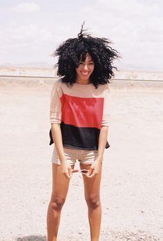 her hair! love.
