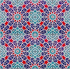 Turkish Tiles: Infinite Patterns Wall Tile