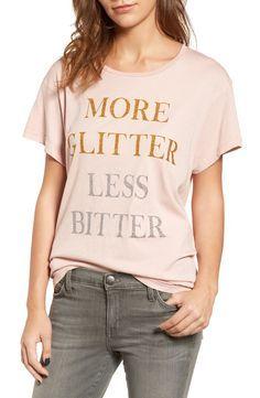 More glitter, less bitter.