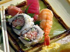 Nigiri Sushi recipe from $40 a Day via Food Network