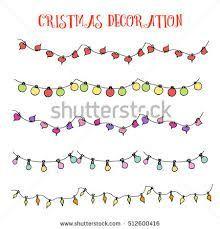Image Result For Christmas Lights Border Hand Drawn Christmaslightspictures Bullet Journal Christmas Christmas Lights Drawing Christmas Cards Drawing