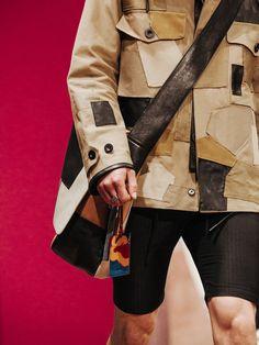 Coach SS16.  menswear mnswr mens style mens fashion fashion style coach runway luxury