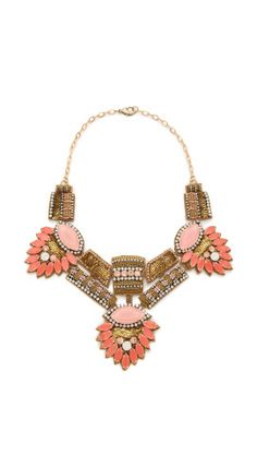 Deepa Gurnani Stone Statement Necklace | SHOPBOP