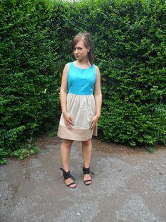 Merci à Ingrid du blog Ingrid Blog Mode / Robe NAF NAF
