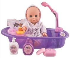 Little Baby and Tub Set