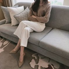 Business Casual Outfits, Classy Outfits, Fall Winter Outfits, Autumn Winter Fashion, Work Fashion, Fashion Outfits, Casual Fall, Minimalist Fashion, Foto E Video