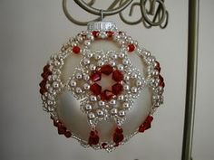gorgeous beaded ornament