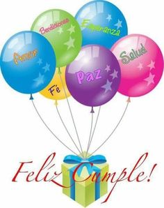 Feliz Cumple Balloons