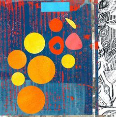Michèle Brown Artist - The Old Cells Studio: A collage a day - day 5