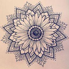 Sunflower tattoo shoulder, mandala tattoo shoulder, small mandala tattoo, s Sunflower Mandala Tattoo, Small Mandala Tattoo, Sunflower Tattoo Shoulder, Sunflower Tattoo Small, Mandala Tattoo Design, Sunflower Tattoos, Sunflower Tattoo Design, Tattoo Designs, Tattoo Calf