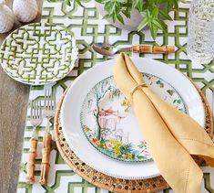 Trellis Dessert Plate, Set of 4