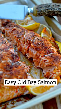 Seafood Dishes, Fish And Seafood, Seafood Recipes, Grilled Salmon Recipes, Dinner Recipes, Easy Healthy Recipes, Easy Meals, Grilling Recipes, Cooking Recipes