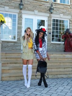 Mean Girls Halloween Costumes, Cartoon Halloween Costumes, Halloween Mode, Mean Girls Costume, Trendy Halloween, Halloween Fashion, Halloween Outfits, Costumes For Women, Cher Costume Halloween