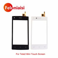 """Buy High Quality 4.0"""" For Tele2 Mini 1.1 Version Touch Screen Digitizer Sensor Outer Glass Lens Panel Black White+Tracking Code .....Please Click Link To Check Price"""
