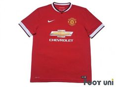 #manchesterunited #manchesterunited2014 #manchesterunited2015 #manchesterunitedshirt #manchesterunitedjersey #manchesteruniteduniform - #footunijapan #footuni #onlinestore #onlineshop #football #soccer #footballshirt #footballjersey #footballuniform #soccershirt #soccerjersey #socceruniform #jersey #uniform #vintageclothing #vintagejersey #vintagefootballshirt #vintage #classic #retro #old #fussball #collection #collector #collective Manchester United Premier League, Manchester United 2014, Soccer Uniforms, Soccer Shirts, Football Jerseys, Nike Football, Vintage Football Shirts, Vintage Jerseys, Premier League Champions