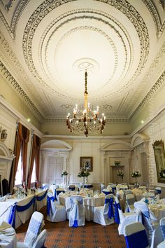 Wedding Breakfast Set Up In The Cloisters Room Coombe Abbey Venue Photography